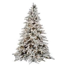 vickerman 10 ft flocked slim utica fir multi led tree