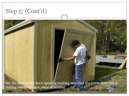 10 how to build a shed door