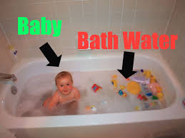 baby bathroom ideas file baby vs bathwater annotated jpg wikimedia commons