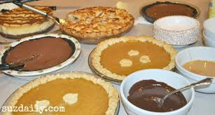 thanksgiving desserts shopping list suz daily