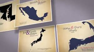 2nd anniversary gifts for 2nd anniversary gift cotton wedding maps for traditional wedding