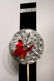 metal wall art sculpture pendulum clock modern abstract decor