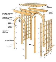 wedding arches plans garden arbor plans arbor arch wood wedding arches pictures