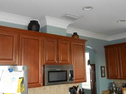 Display Kitchen Cabinets Kitchen Crown Molding Work If The Cabinets Have A Gap Between