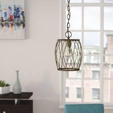 gold mini pendant light gold pendant lighting you ll love wayfair ca