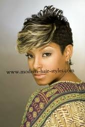 27 Piece Weave Hairstyles Molded Pixie W Blonde Highlights Styling Options Are Quick