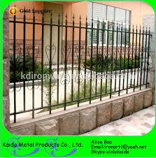 customized cheap wrought iron garden wall fence view wrought iron