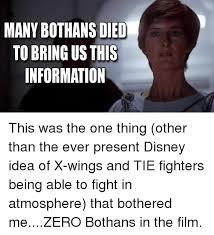 Many Bothans Died Meme - many bothans died meme スターウォーズのスピンオフ映画 ローグ
