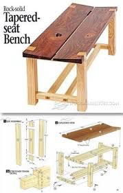 Easy Wood Projects Plans by Wood Bench Plans Furniture Plans And Projects Woodarchivist