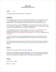 Cool Letter Format Resume Template For Word In Examples Profile Education Regarding