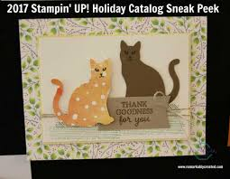 stampin up thanksgiving cards ideas 2017 holiday catalog sneak peek catalog september and holidays