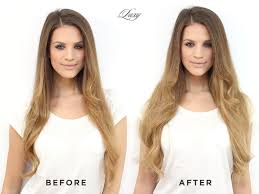 clip in hair extensions before and after before after luxy hair