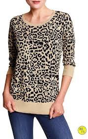 banana sweater banana republic factory leopard print sweater where to buy how