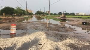 halloween city pensacola fl rain floods roads around new retention pond in downtown pensacola