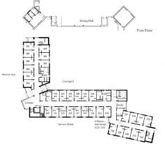 college dorm floor plans new dorm bryn mawr college