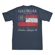Georgia Flag Georgia Flag On Comfort Colors U2013 Georgia Land U0026 Cattle