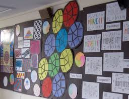 classroom display ideas artful maths picture