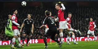 Pertandingan Arsenal vs Bayern Munchen
