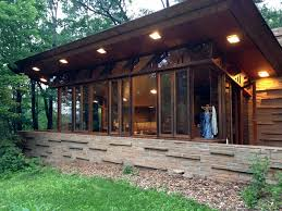 seth peterson cottage floor plan spending 2 nights at frank lloyd wright u0027s cabin in the woods