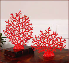 Coastal Home Decor Coastal Home Decor With Fan Coral Sculpture