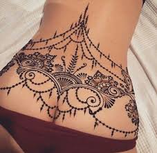 lower back tattoos tatting and