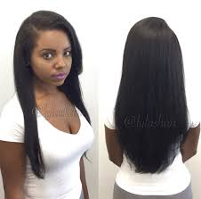 Black Hair Styles Extensions by How To Microlink Sew In Hair Extensions Weave Using Lylas Virgin
