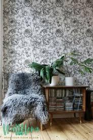 blue monster leaves wallpaper palm areca removable wallpaper