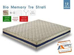 materasso bio materasso anallergico bio memory tre strati materassi anallergici bs