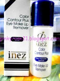 Toner Inez potted pinkyrose review inez eye make up remover
