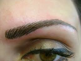 eyebrow feather tattoo uk see the whole process my experience getting my first eyebrow tattoo
