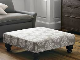 Low Ottoman Upholstered Ottoman Coffee Table Leather House Plan And Ottoman
