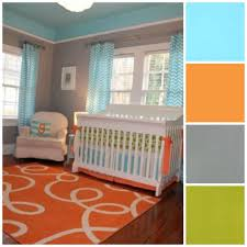 dark blue instead of light malachi pinterest orange curtains