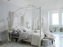 Statement Pieces Above A Bed Tilly Canopy Bedstead  BHS - White bedroom furniture bhs
