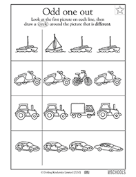 kindergarten preschool reading worksheets which vehicle is