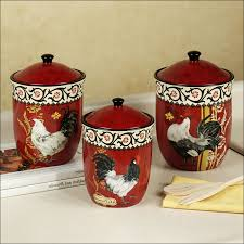 Kitchen Decorative Canisters by Kitchen Tea And Sugar Canisters White Canister Set Stainless