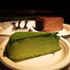 vanilla cream mille crepe cake picture of lady m cake boutique