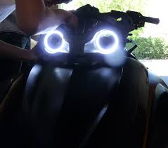 can am spyder orion v2 or v4 led angel eyes