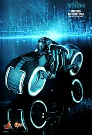 Tron Legacy Light Cycle Toys Tron Legacy Sam Flynn With Light Cycle 1 6th Scale
