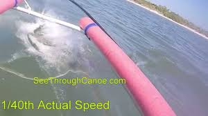 clear kayak bull shark attack seen from a clear kayak youtube