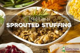 bread stuffing thanksgiving traditional sprouted stuffing recipe the healthy home economist
