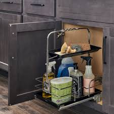 kitchen sink cabinet caddy 11 kitchen storage solutions for a clutter free space wolf