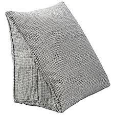 amazon com halovie adjustable back wedge cushion pillow 18 5