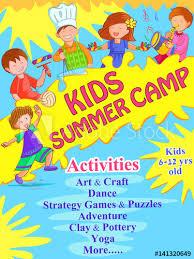 design poster buy banner poster design template for kids summer c activities buy
