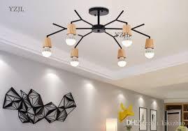 Japanese Chandeliers Nordic Creative Lighting Room Simple Modern L Chandeliers