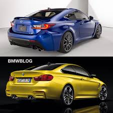 lexus vs bmw i3 bmw m4 vs lexus rc f choose your favorite