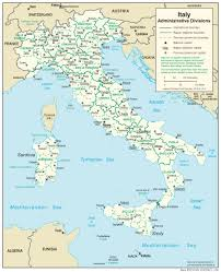 Map Of Central Italy by Italy U2014 Central Intelligence Agency
