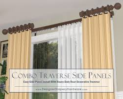Design Ideas For Heavy Duty Curtain Rods 36 Best Decorative Traverse Rods Images On Pinterest Blinds