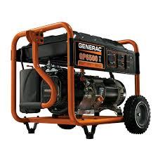generac 6 500 watt gasoline powered portable generator 5946 the