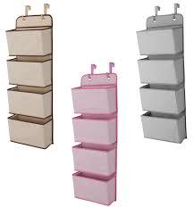amazon com delta girls and boys 4 pocket nursery organizer pink