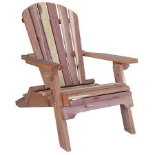 Outdoor Lounge Chair Plans Amerihome Cedar Patio Adirondack Chair 800890 The Home Depot